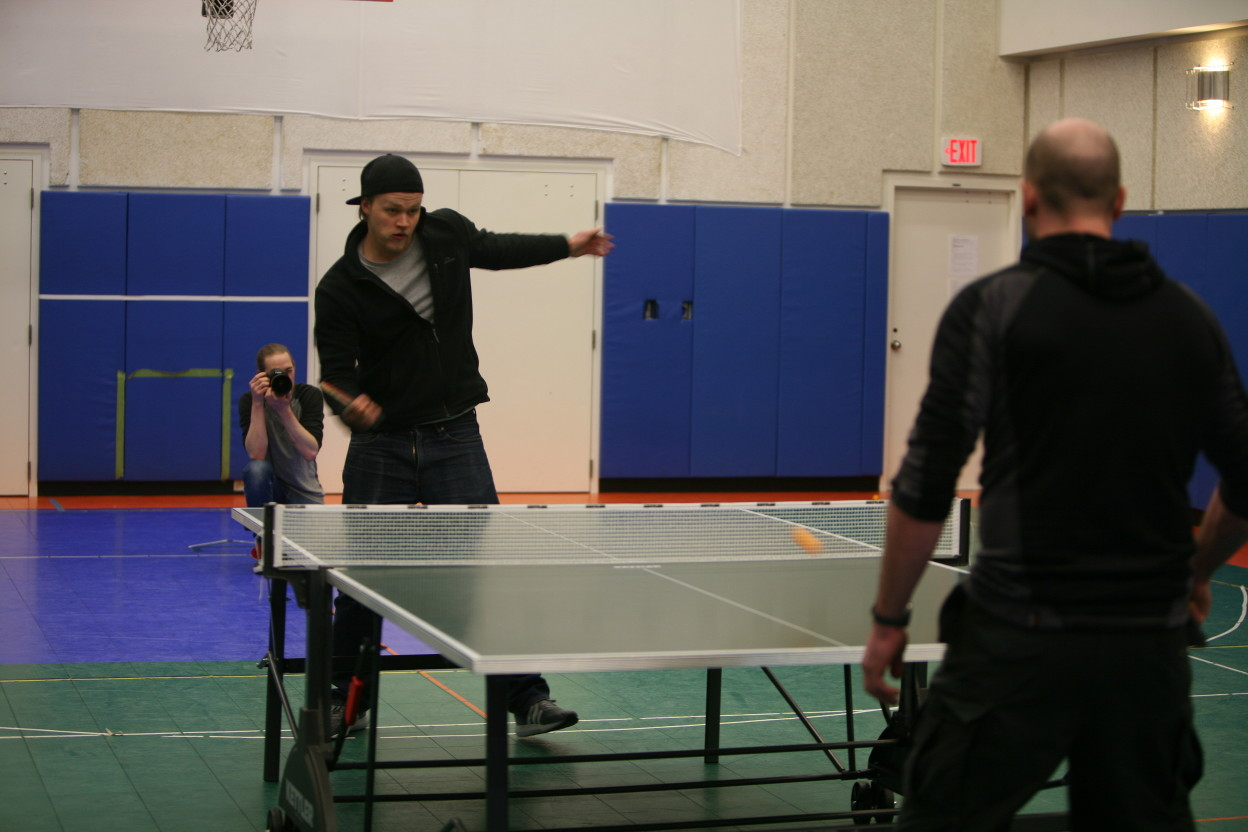 Disciplines 2 and 3 - ping pong - photography