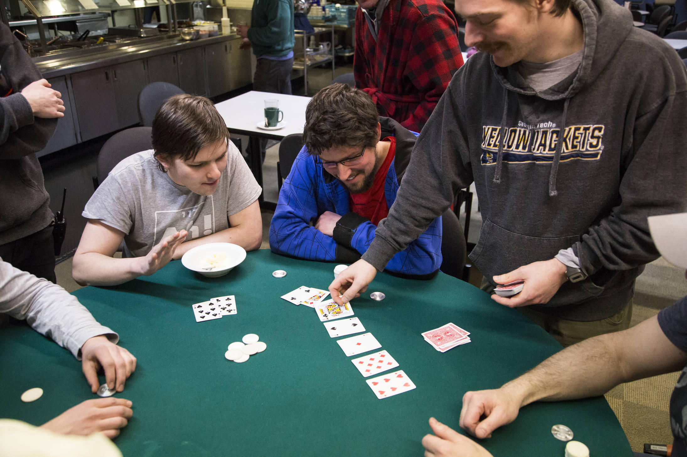 idwinter poker tournament (Photo: Gavin Chensue).