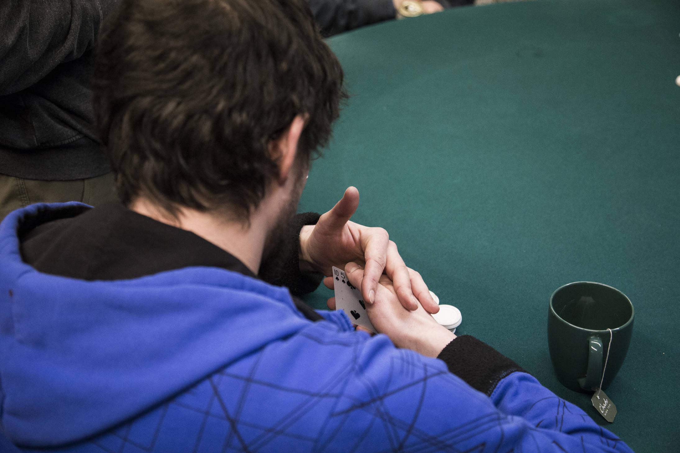 Midwinter poker tournament (Photo: Gavin Chensue).