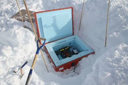 The equipment under ground is throroughly protected and insulated.